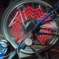 Roue de vélogénrateur