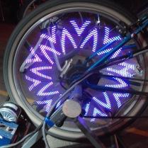 Roue d'un vélogénrateur