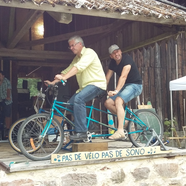 Pas de Vélo pas de sono à Machet